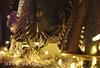 Star light, star bright (Jewel Appletor aka Karalyn Hubbard) Tags: christmas holidays seasons decorations shiny mercuryglassstars staging christmas2017 romantic trees ornate