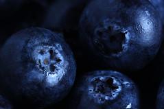 Blueberries (1selecta) Tags: blue blueberries berries food edible wet glisten glint shimmer dark water 3 three
