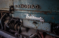 Old rusty tractor (pascal.k1988) Tags: traktor tractor hanomagbrillant600 hanomag rost rusty old history glanz shine