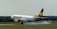 Thomas Cook LY-VEH J78A1568 (M0JRA) Tags: thomas cook lyveh manchester airport planes flying jets biz aircraft pilot sky clouds runways