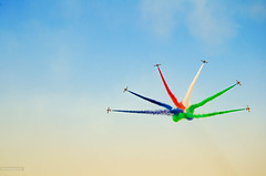 PACK | Al Fursan | ﺍﻟﻔﺮﺳﺎﻥ (Crosshatchs) Tags: red white blue green alfursan aerobatics jets pack skies colors spin roll barrel quote wise group alone standalone dubai dxb uae nikon d7000 knights seven aermacchi mb33 airforce military trainer boombust direction six flying flyer blackandgold ﺍﻟﻔﺮﺳﺎﻥ explore crosshatch skyline nolimit 2018 newyear d850 fighter unitedarabemirates