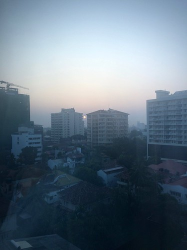 Dawn over Colombo