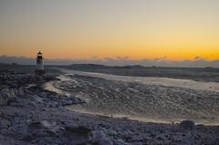Pickering Lighthouse (SarahRydgren) Tags: salemma winter winterisland massachusetts newengland love snow freezing sunrise dawn coast eastcoast