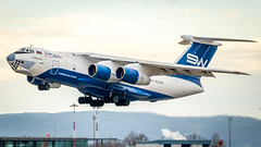 Ilyushin Il-76TD  4K-AZ100 Silk Way Airlines (William Musculus) Tags: il76td 4kaz100 silk way airlines il76td90sw ilyushin basel mulhouse airport spotting eap bsl mlh euroairport