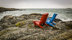 Oak Bay Beach Chairs (Every Day Images) Tags: canada victoriabc seascape flickrunitedaward