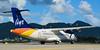 liat (Maxime C-M ✈) Tags: airplane antilles island caribbean beautiful colors airport beach tropical netherlands mountain photography aviation passion nikon sint maarten