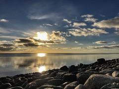 Winter sunset (k.tornby) Tags: cold denmark landscape light sun sunrise sunset water winter