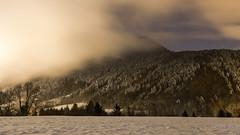 Une nuit fraîche et brumeuse sous les étoiles (MarKus Fotos) Tags: hautesavoie auvergnerhonealpes chablais hiver winter snow neige brume brouillard stratus gavot