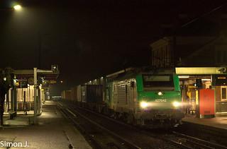 La BB 27042 à Cormeilles