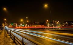 A ride in the night (Lars-Ove Törnebohm) Tags: nightphoto nightshot night tornephoto katrineholm sweden city