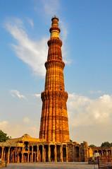 Qutub-Minar (Rod Waddington) Tags: india indian qutubminar delhi historical history historic minaret unesco building architecture outdoor