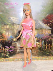 Happy New Year from Barbie (The doll keeper) Tags: 1968 vintage mod tnt barbie