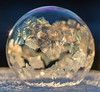 Garland (arlene sopranzetti) Tags: frozen soap bubble winter garland gold