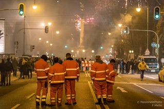 New Year eve real heroes!