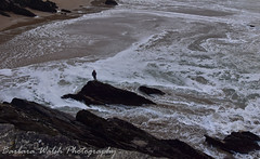 Alone (Barbara Walsh Photography) Tags: alone sea tide beach coumeenole ireland kerry