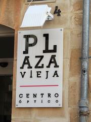 PLAZA VIEJA CENTRO ÓPTICO (Anita363) Tags: plazaviejacentrooptico eyechart store shop optician sign úbeda andalucía andalusia spain españa plazaviejacentroóptico