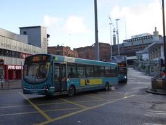 Arriva North West 3027 MX59 JJO on 53, Queens Square Bus Stn, Liverpool (sambuses) Tags: arrivanorthwest 3027 mx59jjo