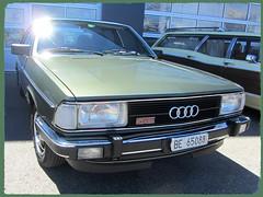 Audi 100 CD 5E, 1981 (v8dub) Tags: audi 100 cd 5 e 1981 schweiz suisse switzerland langenthal german pkw voiture car wagen worldcars auto automobile automotive youngtimer old oldtimer oldcar klassik classic collector