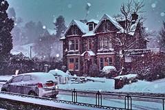 Here we go (Fr Paul Hackett) Tags: snow winter kingussie house trees