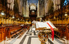 The Choir At York Minster (Peter Greenway) Tags: historic cathederal choir bible worship church flickr worshippinggod minster god york architecure iconic yorkshire lectern yorkminster