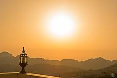 Sundown over Petra - Jordan (jennifer.stahn) Tags: travel travelphotography petra jordan jordanien sundown sonnenuntergang view hotel alanbat nikon jennifer stahn