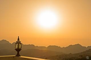 Sundown over Petra - Jordan
