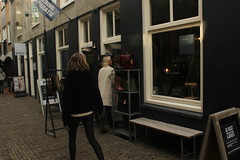 Utrecht, Netherlands (katelyn krulek) Tags: travel traveling travelling travels europetravel study abroad flickr exploring explore exploremore utrecht netherlands netherlandstravel utrechtnetherlands city urbanexploring urban store front window doors people shopping walking