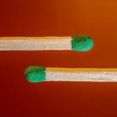 Fire Sticks (FotoCorn) Tags: macromondays macromonday hmm sticks happymacromonday happymacromondays macro matches lucifer stick