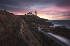 Good morning Breizh (Mathulak) Tags: saintmathieu pointedesaintmathieu bretagne breizh lighthouse phare sunrise lokmazhe seascape