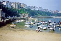Photo of Tenby harbour, South Wales, 3rd September 1991