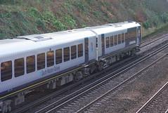 RD16220.  444 040 at Farnborough. (Ron Fisher) Tags: swr southwesternrailway southernrailway londonsouthwesternrailway lswr emu electricmultipleunit train transport publictransport farnborough hampshire rail railway railroad eisenbahn chemindefer