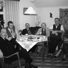 Christmas 1960 (rotabaga) Tags: sverige sweden svartvitt blackandwhite bw bwfp christmas jul noel navidad