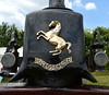 Aveling and Porter prancing horse (Snapshooter46) Tags: marsworth steamrally 2017 avelingandporter prancinghorse trademark oillamps roadroller
