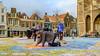 Is stoepkrijten illegaal in Delft?? (FotoCorn) Tags: delft grotemarkt nieuwekerk markt street straat stoepkrijt e bter bet