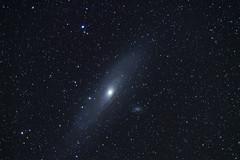 The Andromeda Galaxy as seen from Mount Vision Road (fksr) Tags: andromedagalaxy andromedanebula messier31 m31 ngc224 nightsky stars mountvisionroad pointreyesnationalseashore marincounty california astrometrydotnet:id=nova2384997 astrometrydotnet:status=solved