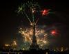 Happy New Year (KASHIF QAISER) Tags: fireworks eifeltower lahore celebration newyear2018 lightshow nightphotography longexposure night sky architecture