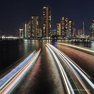 Night View from Eitai-Bridge