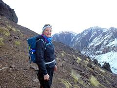 Edita on the trail to Tizi Aguelzim (markhorrell) Tags: morocco highatlas atlasmountains aguelzim