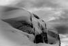 Snow at rocks (MortenTellefsen) Tags: 2017 desember snow snø rock winter blackandwhite bw bergen blackandwhiteonly white monochrome svarthvitt vinter artinbw art abstract