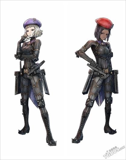 《戰場女武神4》官網最新情報帝國軍角色公開