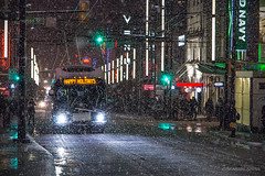 ❄ HAPPY HOLIDAYS ❄ Vancouver, BC (Michael Thornquist) Tags: nye nye2016 newyearseve newyears newyears2016 happyholidays snow flurry city street transit translink trollybus granvillestreet granvillest robsonstreet granvillestrip granvillemall neonsigns neon orpheumvancouver tomleemusic tomleemusicvancouver canadiangeographic sharecangeo vancouverphotos downtownvancouver vancouver britishcolumbia dailyhivevan vancitybuzz vancouverisawesome veryvancouver 604now photos604 explorecanada ilovebc vancouverbc vancouvercanada downtown vancity pacificnorthwest pnw metrovancouver gvrd canada canoncanada michaelthornquist seasidesigns snowcouver