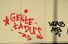 graffiti amsterdam (wojofoto) Tags: graffiti streetart amsterdam nederland netherland holland wojofoto wolfgangjosten mauritskade tags tag 2017 gekte tadu atb wca