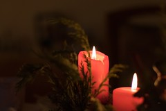 Christmas impressionen (GE.86) Tags: christmas red lights kerze weihnachten