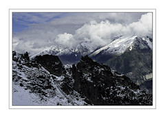 Mountain (orichier) Tags: france alpes mountain landscape alps snow cloud sky