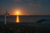 Night at the beach (Rind Photo) Tags: frederikshavn northdenmarkregion denmark moonlight beam seascape