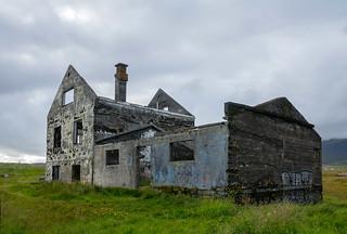 The Abandoned house at Dagverðará at Snæfellsnes, Iceland