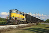 308, Moore Haven, 22 Nov 2017 (Mr Joseph Bloggs) Tags: ussc scfe moore haven clewiston florida united states america gm general motors emd electro motive division gp11 train treno bahn railway railroad sugar corporation south central express freight cargo merci emdgp11