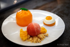 20171206-60-Orange cheesecake at Frogmore Creek City in Hobart (Roger T Wong) Tags: 2017 australia frogmorecreekcity hobart iv metabones rogertwong sigma50macro sigma50mmf28exdgmacro smartadapter sonya7ii sonyalpha7ii sonyilce7m2 tasmania cheesecake dessert food orange restaurant