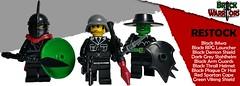 BrickWarriors Restock (BrickWarriors - Ryan) Tags: brickwarriors lego customlegominifigure legogun fantasy rpg rpglauncher viking spartan plague helmets stahlhelm