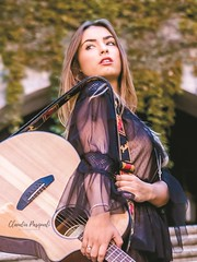 Sara (Claudia Pasquali) Tags: music photo photography photographer photos woman portrait people ritratti beauty best bellezza beautiful guitar rome italy artist model models moda